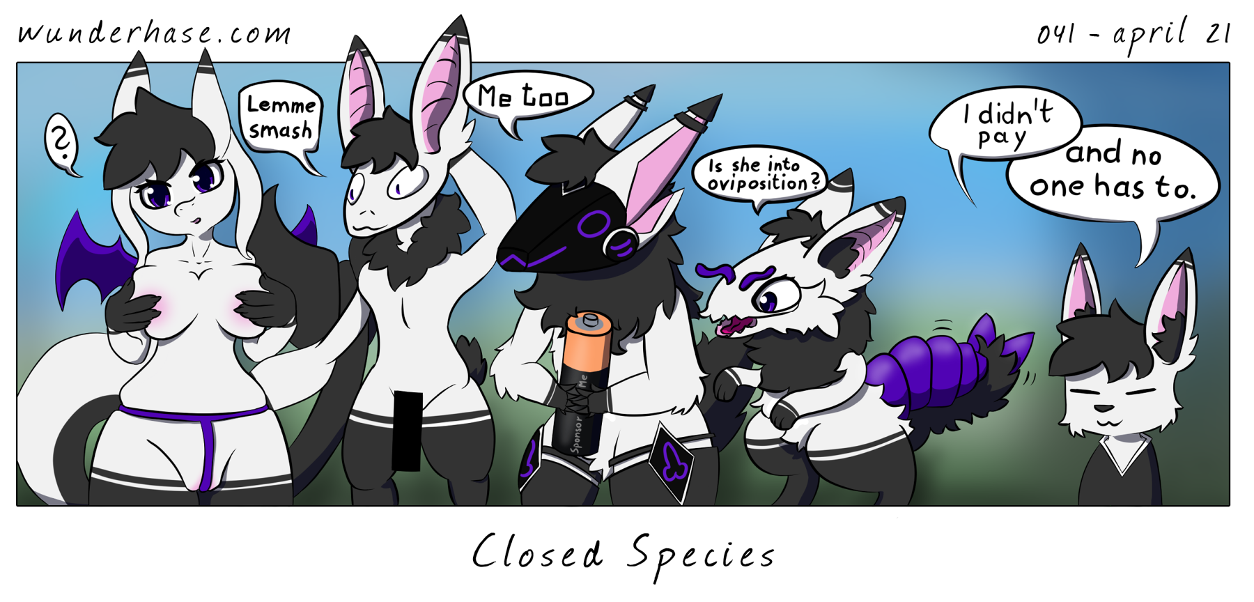 Page 41 – closed species
